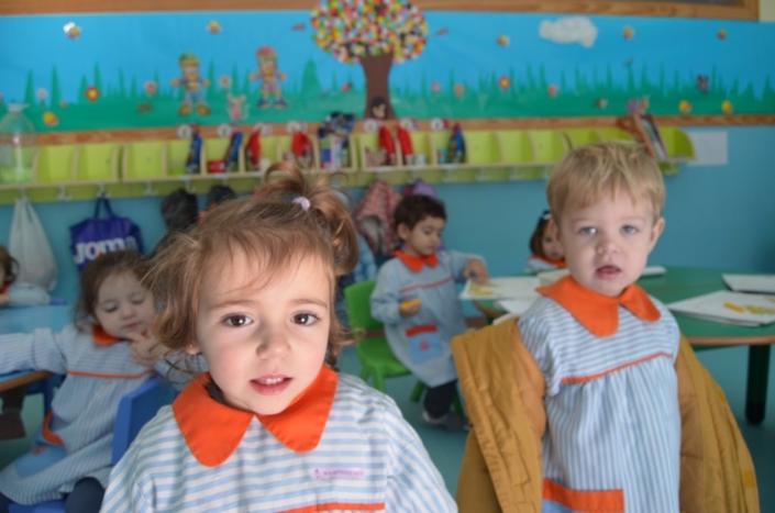 Niños en la Guardería de Toledo - Colegio Mayol